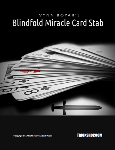 Blindfold Miracle Card Stab