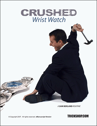 Crushed Wrist Watch
