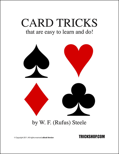 card tricks that are easy  rufus steele  trickshop