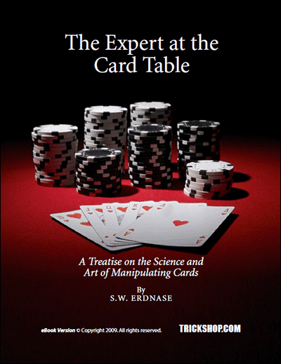 The expert at the card table advanced sleight of hand with cards the expert at the card table advanced sleight of hand with cards sw erdnase trickshop fandeluxe Image collections